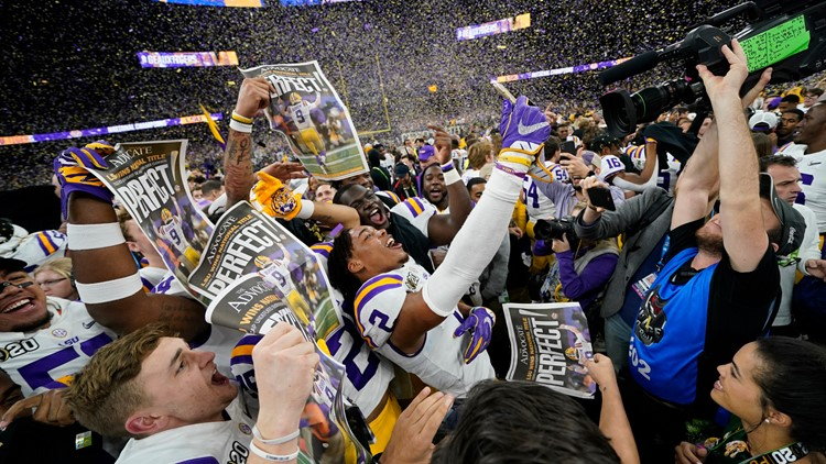 Live Updates: LSU wins National Championship