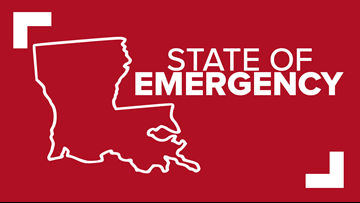 Louisiana declares state of emergency ahead of potential hurricane landfall