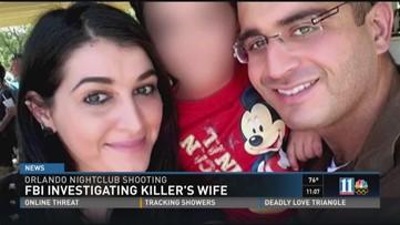 FBI investigating killer's wife
