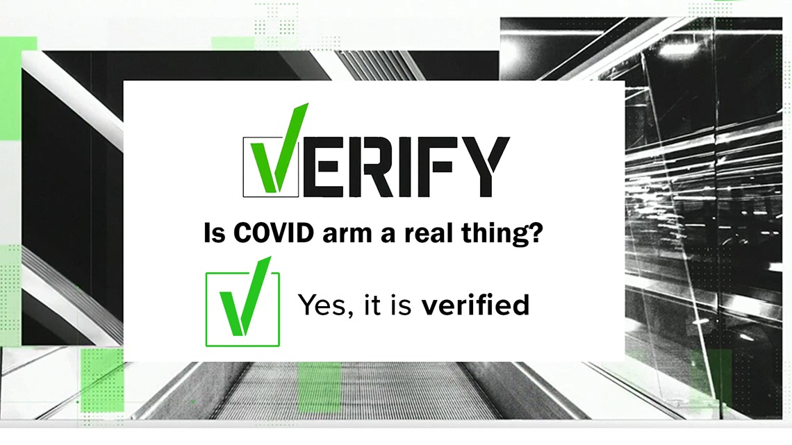 VERIFY: Is 'COVID arm' a real thing?